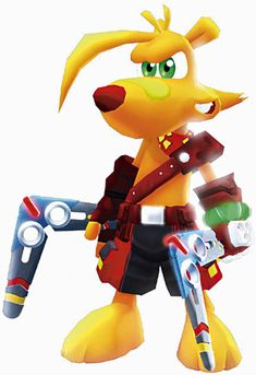 Ty the Tasmanian Tiger by wariovegatable