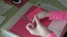 Stampin Up! - Jr Legal Pad Cover with Pen (also using the SU Bow Punch)