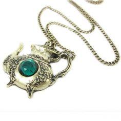 Vintage Teapot Necklace