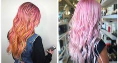 Pinkki+on+pop:+Vaaleanpunainen+on+pääosassa+tuoreissa+hiusväritrendeissä