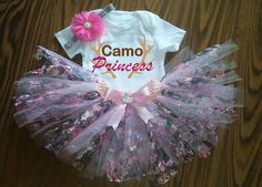 Hey, I found this really awesome Etsy listing at https://www.etsy.com/listing/474988185/camo-princess-outfit-pink-camo-girl
