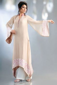 Latest Pakistani Party Wear Dress 2014 for Girls