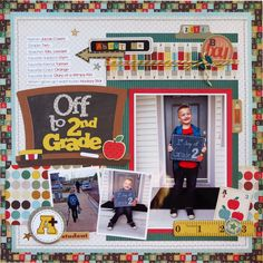 Off+to+2nd+Grade - Scrapbook.com