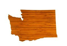 AHeirloom's Washington State Cutting Board by AHeirloom. $46.00. Manufactured in the USA by AHeirloom. Easy to maintain; wipe with warm water and sponge with an occasional touch up with mineral oil or olive oil. Each board is 3/4-inch thick, with levelers that also grip and make for a lovely display. Each state shaped board has been custom drawn for close accuracy and a clean curve on each of the distinctive borderlines. Made with organically grown bamboo; tri-ply, cross lamin...