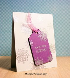 Video: Spotlight Stamping Snowflake Card — Michelle Yuen Design