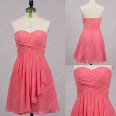 Chiffon Sweetheart Bridesmaid DressesProm Dresses by bright2014, $72.00
