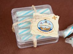 Easy Pirate Birthday Party Favors!