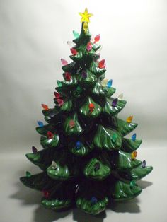 pin by sue ricotta on vintage 21 ceramic christmas tree pinterest ceramic christmas trees light bulb and christmas tree