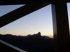 Puesta de sol en Tejeda. Gran Canaria.España. Octubre 2013