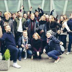 Viikonloppuna aTalentin poppoo valloitti Tallinnan! Workshoppien, kuulasodan, kylpylän ja Tallinnan yöelämän jälkeen jaksaa taas painaa hommia💪✌😁🎉 #officelife #tiredbuthappy #tb