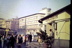 Ein Foto aus dem Archiv von HAZ-Leser Axel Herrmann, aufgenommen um 1956: Der Kröpcke | Quelle: Axel Herrmann