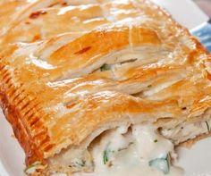 Creamy Chicken Pie