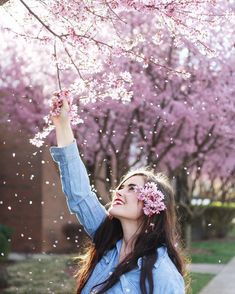 Ideas Flowers Fashion Photoshoot Cherry Blossoms For 2019