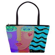Woman Abstract Art Large Shoulder Bag Diy Tote Bag, Large Shoulder Bags, Totes, Abstract Art, Plastic, Quilts, Purses, Woman, Paper