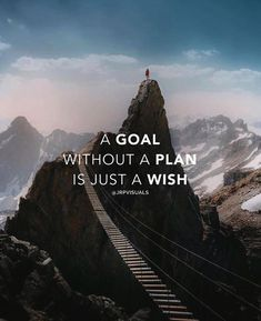 Positive Quotes :    QUOTATION – Image :    Quotes Of the day  – Description  A goal without a plan..  Sharing is Power  – Don't forget to share this quote !    https://hallofquotes.com/2018/04/16/positive-quotes-a-goal-without-a-plan/