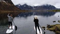 Stand up paddling in Norway... looks gorgeous, but maybe a little cold?!