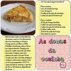 Torta de frango invertida
