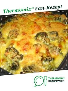 Kartoffel-Broccoli-Auflauf Potato and broccoli casserole of A Thermomix ® recipe from the main course with vegetables category www.de, the Thermomix® Community. Potato and broccoli AuflauPotato Broccoli AuflauBroccoli and sweet potato Pizza Recipes, Potato Recipes, Casserole Recipes, Baby Food Recipes, Mexican Food Recipes, Salad Recipes, Cooking Recipes, Healthy Recipes, Ethnic Recipes
