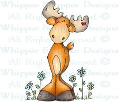 Al Dente - Woodland - Animals - Rubber Stamps - Shop