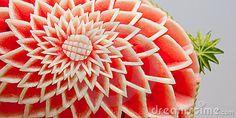 Escultura decorativa de la fruta