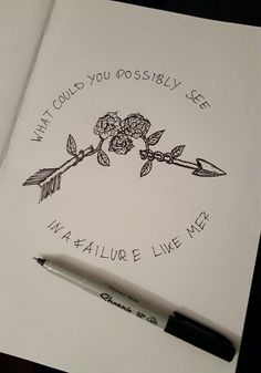 """mind stained by memories i can't erase knstntheadache: """"Knuckle Puck // dédain"""" Sad Drawings, Cool Art Drawings, Art Drawings Sketches, Tattoo Drawings, Lyric Drawings, Easy Drawing Tutorial, Future Tattoos, Body Art Tattoos, Arabic Tattoos"""