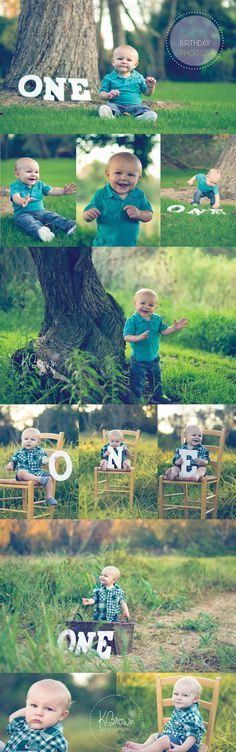 one year boy birthday professional photo - Google Search