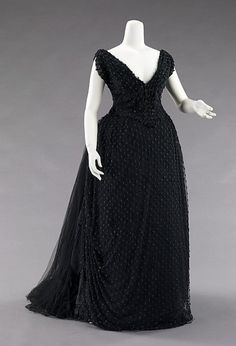Evening Dress  c.1885  The Metropolitan Museum of Art