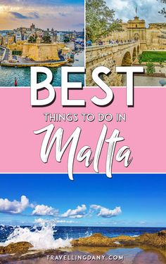 The best things to do in Malta (Europe) with tips and tricks. Includes info on Island of MTV! | #Malta #europe #maltese #mtv #diving #visitmalta #europeanstyle #europeancountries #beaches #travel #travelblogger #travelblog #traveltips #itinerary