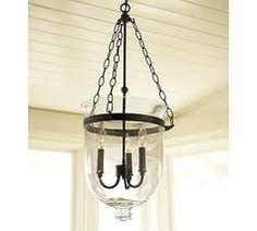 Hurricane lamp pendant brass glass