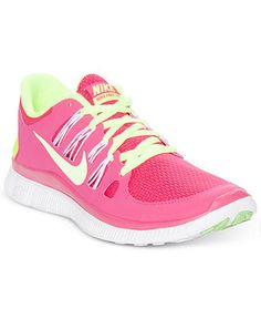 Nike Women's Shoes, Free 5.0+ Running Sneakers - Sneakers - Shoes - Macy's
