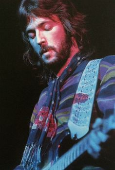 Eric Clapton with Derek and the Dominos, late 1970) Tumblr
