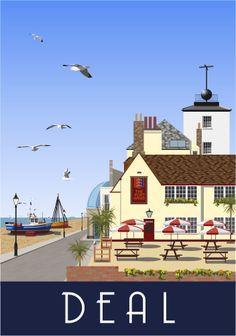 Deal, Port Arms. Kent Coast