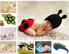 Free Shipping 2013 NEW Toddler Boy Girl Baby Beanie Costume Animal Hats Caps Sets Taking Photography Props Knit Crochet DEG