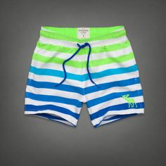 Mens Bartlett Pond Swim Shorts | Mens Swim | Abercrombie.com
