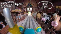 Gardaland 2019 Doremi Farm 360° VR Onride Do Re Mi, Enjoy It, Vr, Make It Yourself