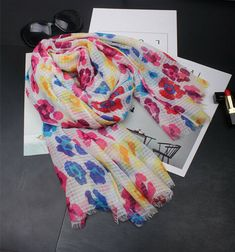 "Women/'s Fashion Scarf Cotton Summer Wrap Stole Hijab Scarves Veil 74/""x42/"""
