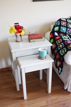 Possible table for Reagan's room...Ana White | Build a Preston Nesting Side Tables | Free and Easy DIY Project and Furniture Plans