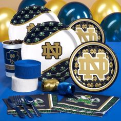CEG 207417 Notre Dame Fighting Irish College Standard Pack *** For more information, visit image link. (This is an affiliate link) #PartySupplies