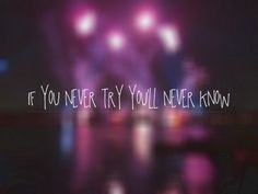 If you never try quotes bokeh purple you song coldplay lyrics fix