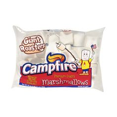 Campfire Giant Roasters Marshmallows, 28 oz ($2) ❤ liked on Polyvore featuring food, food and drink, comida, camping and filler