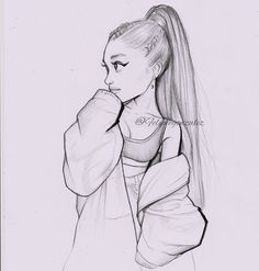 did this lil cartoon of ari yesterday, Im not fe. - I did this lil cartoon of ari yesterday, Im not fe. - I did this lil cartoon of ari yesterday, Im not fe. Art Drawings Sketches Simple, Girl Drawing Sketches, Girly Drawings, Pencil Art Drawings, Cartoon Drawings, Cartoon Art, Easy Drawings, Cartoon Ideas, Girl Sketch