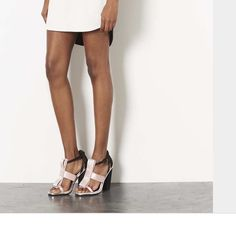 Prada  Wannabe Topshop Bow Sandals NWT New with tags, fits women shoe size 6 to 6 1/2 Topshop Shoes Heels