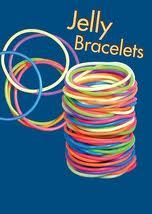 Jelly bracelets - enough for a jump rope!!