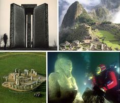 Marvels of engineering, vanishing civilizations and a granite guide to post-apocalyptic survival: these 12 monuments and ruins are mysterious and strange.