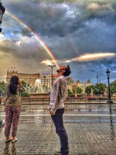 Bebiendo el arco iris