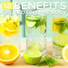 12 Benefits of Detoxing the Body- great reasons to do a simple detox!