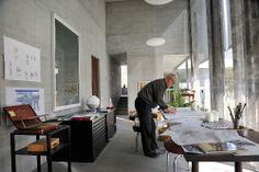 Peter Zumtohr in zijn atelier