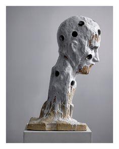 Johan Tahon, Manresa (Holes) 2014-15, 0 x 43 x 70 cm , Glazed ceramic
