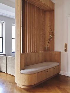 Contemporary Architecture Design Interior Scandinavian New York Apartment Bedroom Vintage Furniture