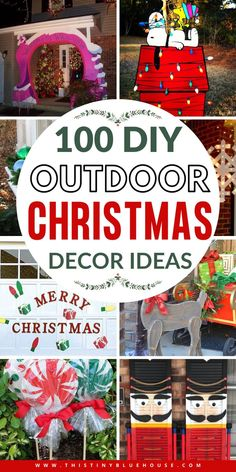 Best Top Outdoor Christmas Decor Ideas - This Tiny Blue House Christmas Train, All Things Christmas, Christmas Home, Christmas Lights, Christmas Holidays, Christmas Ornaments, Blue Christmas, Christmas Presents, Christmas Ideas